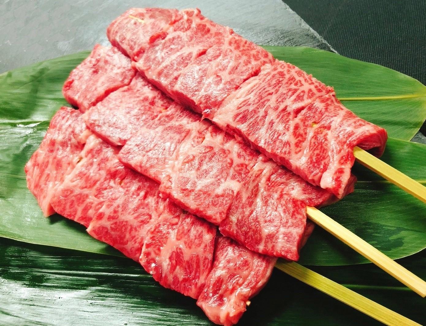 ブランド牛食べ比べ串 1,000円